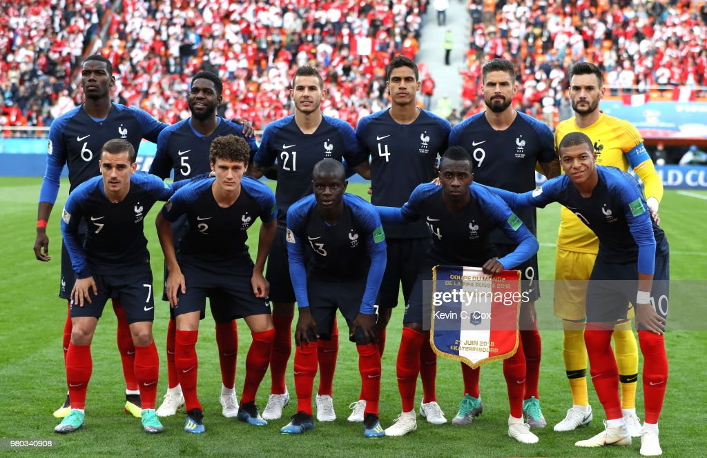 France v Peru: Group C - 2018 FIFA World Cup Russia : ニュース写真