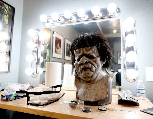 """CA: Make-Up And Special Effects Artist Ron Knyrim Of SOTA FX Recreates Frankenstein Monster For 50th Anniversary Of """"Dracula Vs. Frankenstein"""""""
