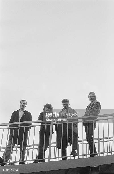 The Frantic Elevators with singer Mick Hucknall second from right Hulme Manchester circa 1981 Hucknall went on to global success with his next band...