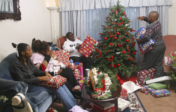 Family Of Marine In Iraq Celebrates Christmas Photos and Images ...