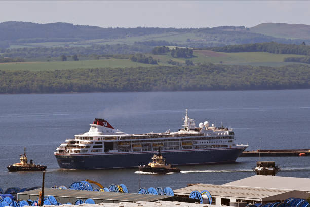 GBR: Cruise Ships Lay Up In Rosyth As Industry Downturn Continues