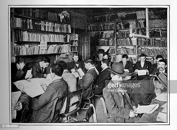 The Free Russian Library and reading room 15 Whitechapel Road Stepney London circa 1901 The Free Russian Library was set up by Aleksei Teplov Opening...