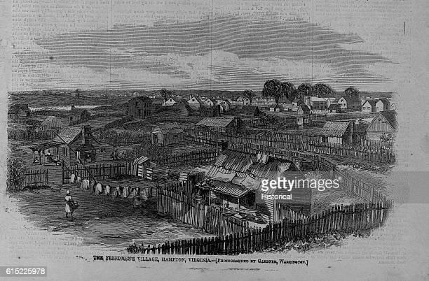 The Freedmen's Village, Hampton, Virginia.