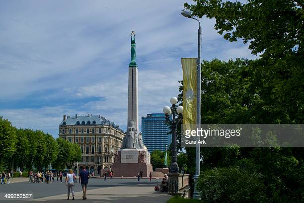 CONTENT] The Freedom Monument socalled because of its dedication to Fatherland and Freedom marked by the friezes around the base signals the...
