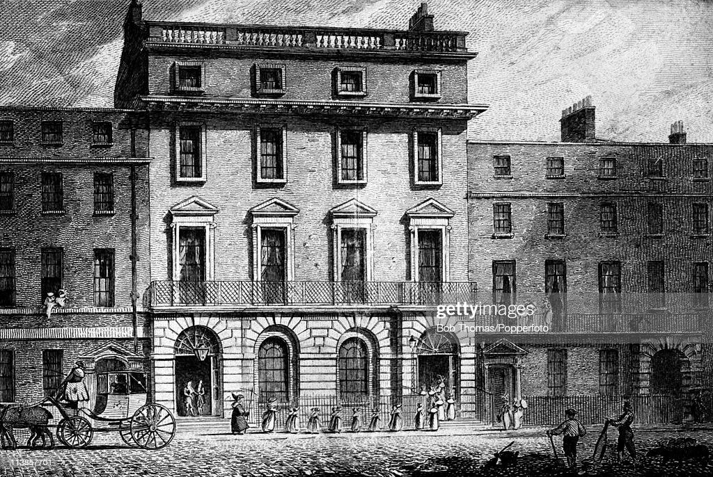 The Freemason's Tavern, Great Queen Street, London : News Photo
