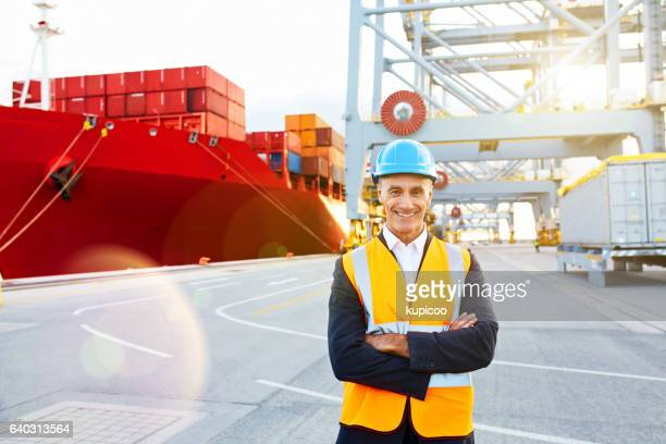 the freight is loaded and ready for shipping! - commercial dock stock pictures, royalty-free photos & images