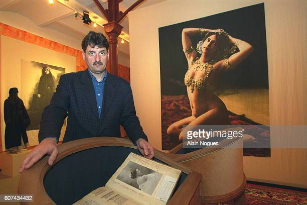 The 'Freis Museum' in Leeuwarden the 'boudoir' is devoted to Mata Hari Gerg Kopmans Curator of the museum