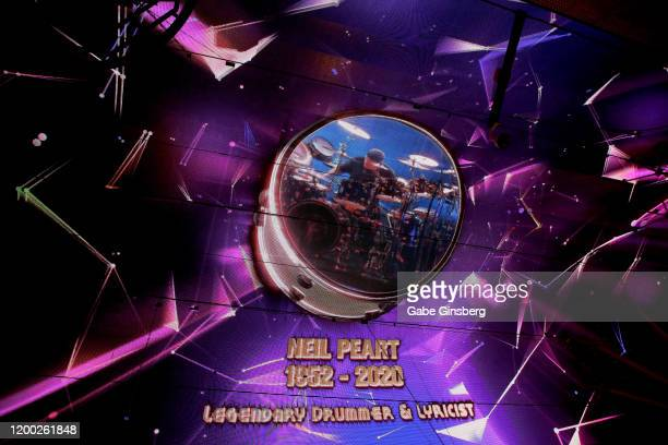 The Fremont Street Experience pays tribute to Rush drummer and Rock & Roll Hall of Fame member Neil Peart with a video retrospective on the...