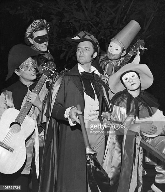 The French Actor Gerard Philipe In 1958 This Scene Was Taken From The Play Directed By Jean Vilar 'Les Caprices De Marianne' By Alfred De Musset