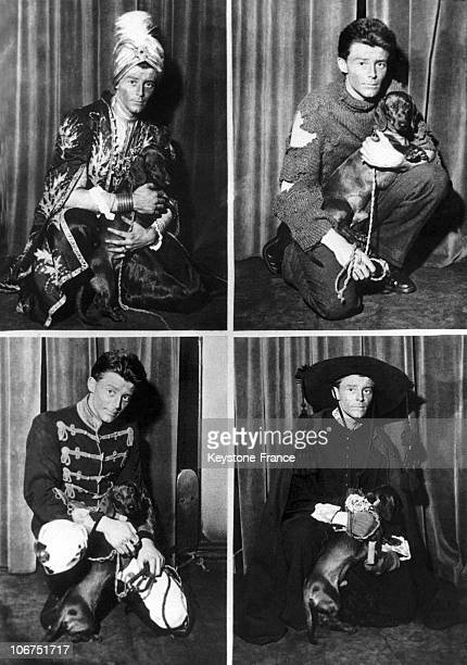 The French Actor Gerard Philipe In Paris On February 21 1949 He Is Pictured In His Four Stage Outfits For Alfred Savoir'S Play 'Le Figurant De La...