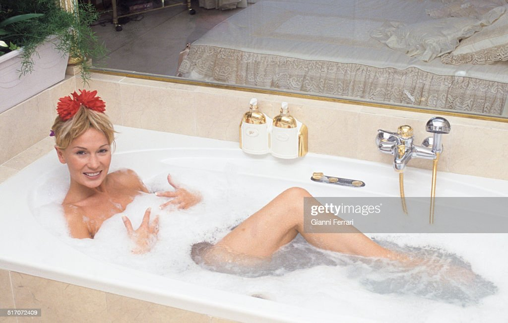 Marlene Mourreai In The Bathtub. Pictures | Getty Images