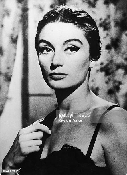 The French Actress ANOUK AIMEE on SEPTEMBER in 1962