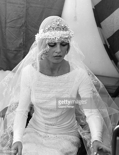 The French actress Brigitte Bardot during the filming of the movie 'Boulevard du rhum' Malaga Spain