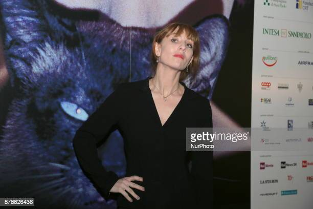 The french actress Lolita Chammah during the opening ceremony of he 35nd edition of the Torino Film Festival on 24 November 2017 in Turin Italy