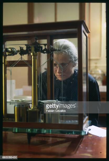 The French actress MarieChristine Barrault interprets the role of Marie Curie in the French television film Marie Curie une Femme Honorable directed...