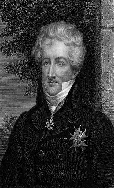 Engraving of Georges Cuvier by James Thomson Pictures | Getty Images