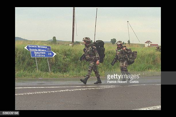The French army is present in many parts of the world including Kuwait, Rwanda and Bosnia.
