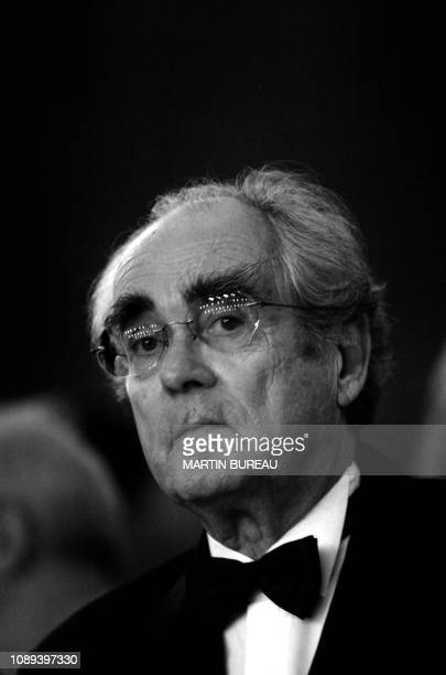 The French composer singer and conductor Michel Legrand will pose on October 23 2004 in Auxerre for the 5th edition of the International Festival of...