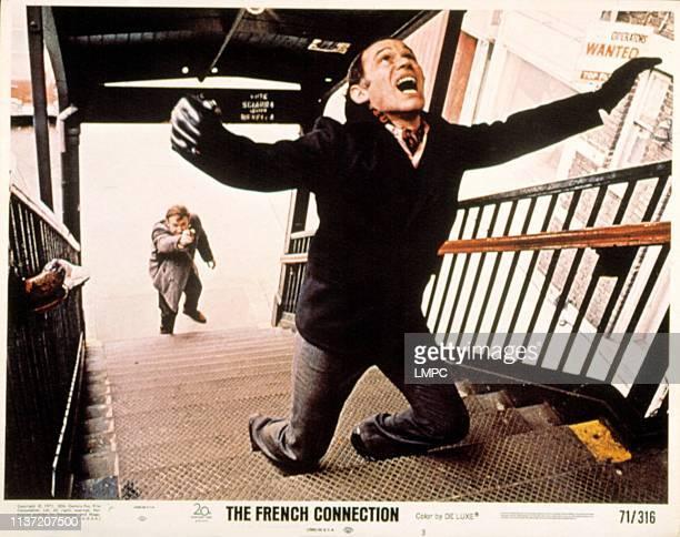 The French Connection lobbycard Gene Hackman Marcel Bozzuffi 1971