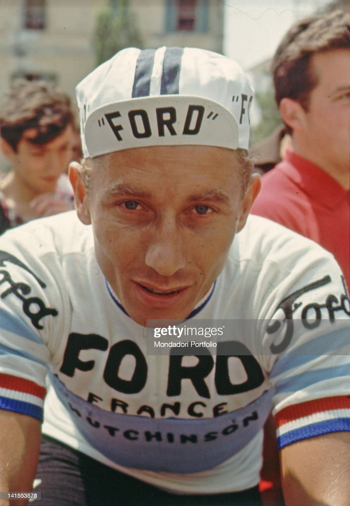 Jacques Anquetil Before A Stage : News Photo