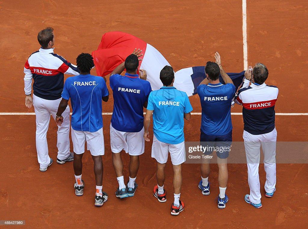 France v Czech Republic - Davis Cup World Group Semi Final : News Photo