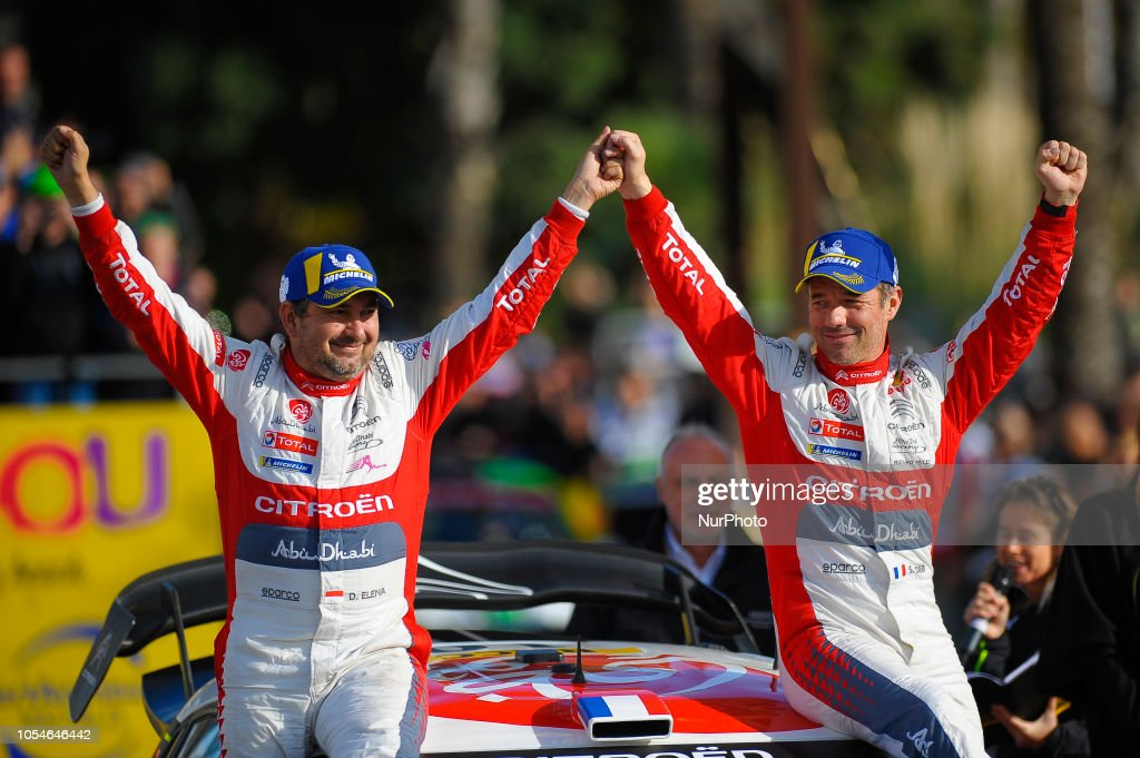 Rally Catalunya WRC Podium Ceremony : News Photo
