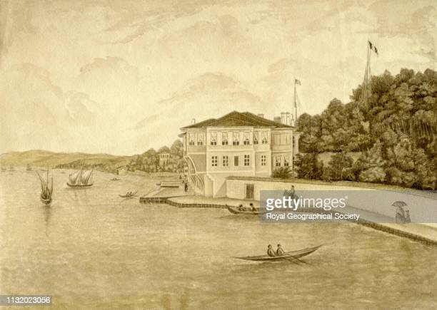 The French Embassy Palace at Therapia Possibly dates circa 1830 Artist Artist unknown