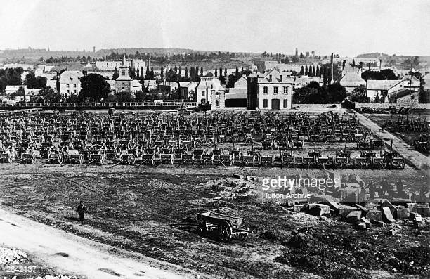 The French encampment at Sedan during the Franco-Prussian War.