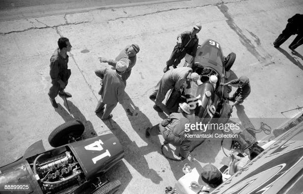 The French Grand Prix Rouenles Essarts July 7 1957 Here is another wonderful photograph from the 1957 French Grand Prix taken during practice at the...