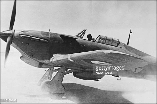 The French heroes of DDay in France in 1942 Claude RaoulDuval French Spitfire pilot in Great Britain and Hurricane pilot in Lybia Egypt Hurricane
