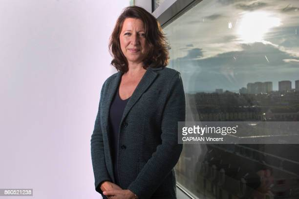 the french Minister of Health Agnes Buzyn is photographed for Paris Match at the ministery in Paris on September 25 2017