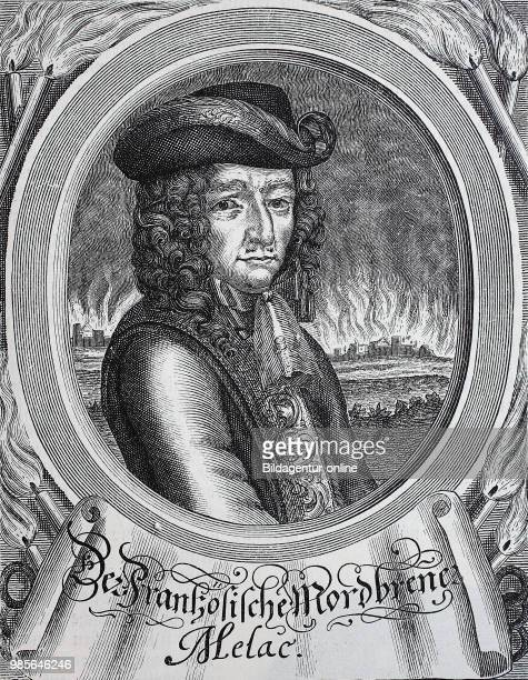 The French murder torch Ezechiel du Mas comte de Melac around 1630 10 May 1704 was a French general under King Louis XIV and Minister of War Louvois...