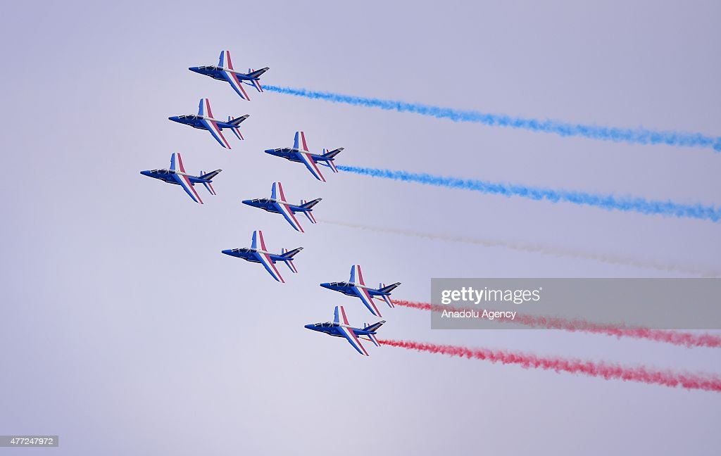 Paris Air Show 2015 : News Photo