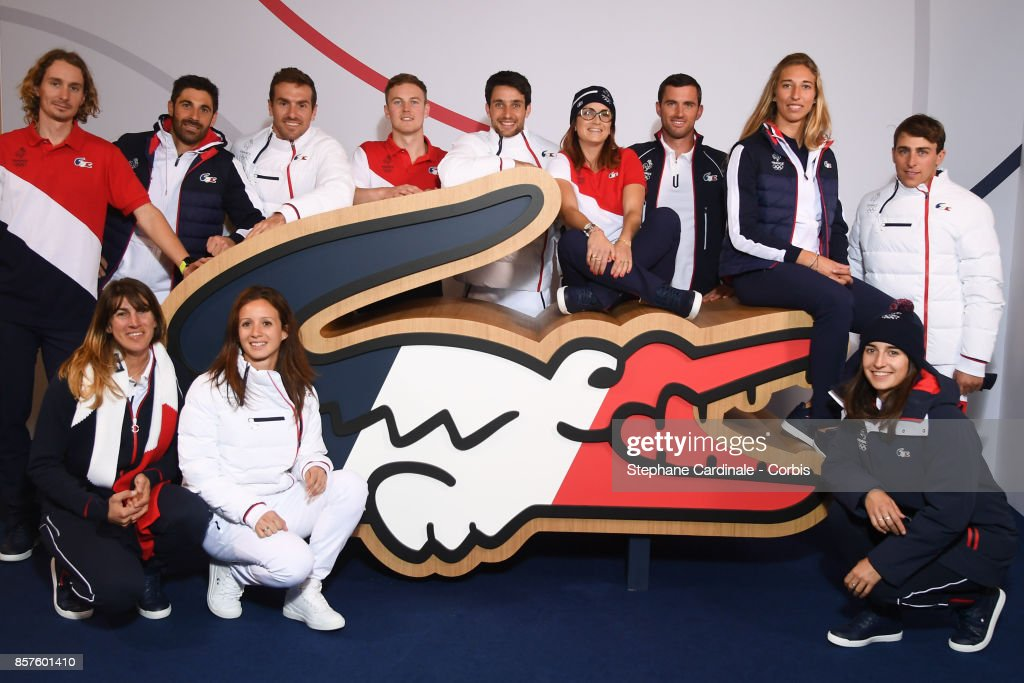 France Olympic Team Attends A Press Conference 100 Days Prior The Pyeongchang Olympic Games In Paris