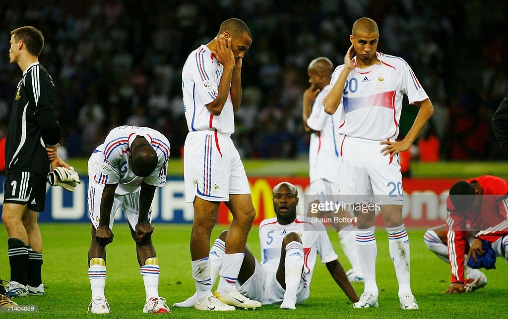 Final Italy v France - World Cup 2006 : Photo d'actualité