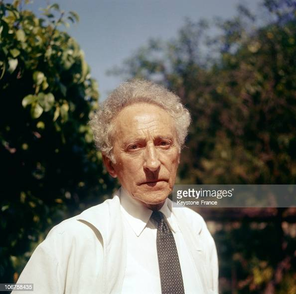 Poet Author Creative: The French Poet, Writer And Film Director Jean Cocteau