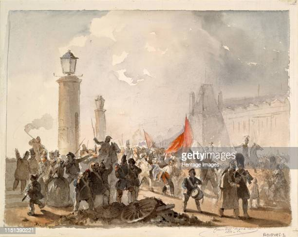 The French Revolution of 1848 1850 From a private collection Artist Dell'Acqua Cesare