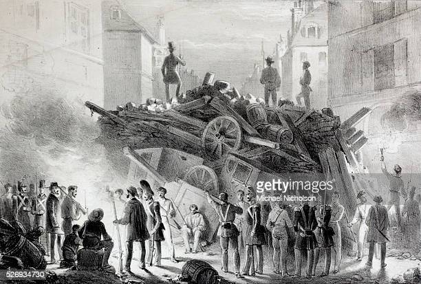 The French revolution of 1848 Barricades in Paris This revolution which was centred on Paris overthrew the reign of LouisPhilippe who had been...