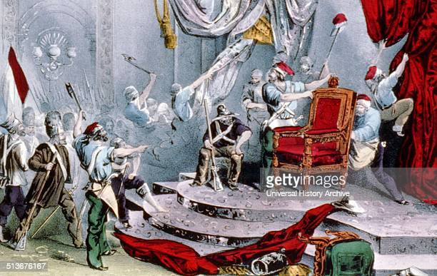 scene in the throneroom of the Tuileries 1848 The French Second Republic was the republican government of France between the 1848 Revolution and the...