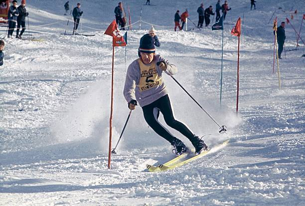 Jean-Claude Killy At Val-D'Isere In 1967