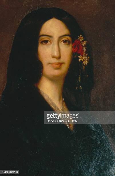 The French writer and novelist George SAND L'écrivain et romancière française George SAND