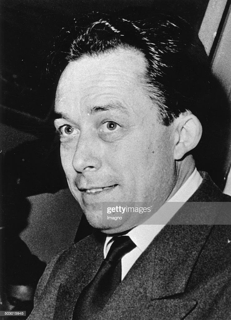The French Writer And Philosopher Albert Camus. In 1957 He Was Awarded The Nobel Prize In Literature. About 1957. Photograph. : News Photo