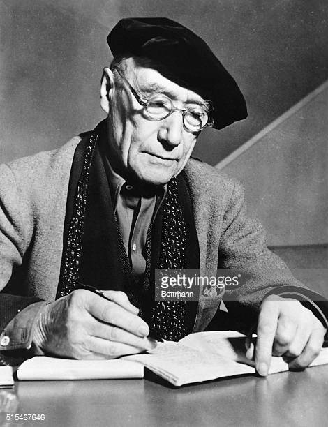 The French writer Andre Gide, winner of the 1947 Nobel Prize for Literature. Undated photo.
