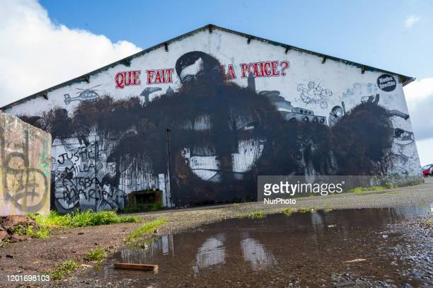 The fresco paying homage to Steve Maia Canico located on Quai Wilson in Nantes France was degraded on 18 February 2020 with black paint forming a...