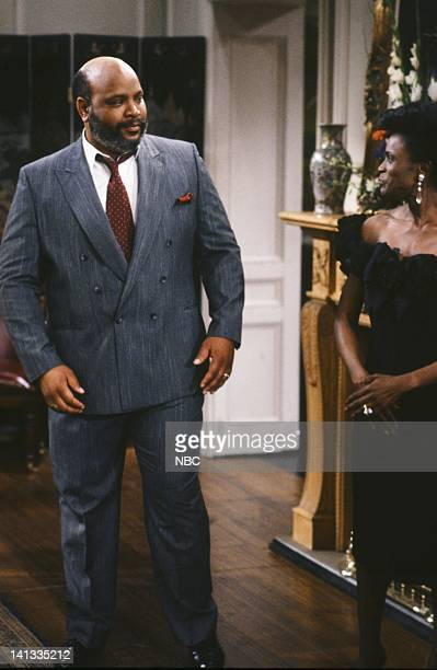AIR The Fresh Prince Project Episode 1 Pictured James Avery as Philip Banks Janet Hubert as Vivian Banks Photo by Chris Haston/NBCU Photo Bank
