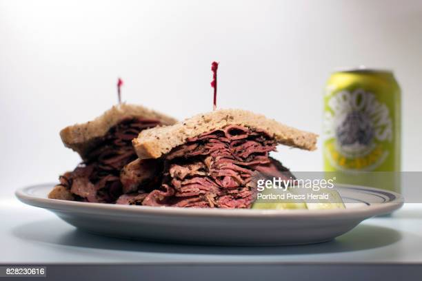 The fresser pastrami on rye at Rose Foods pairs well with a can of Dr Brown's CelRay soda That's right Celeryflavored soda