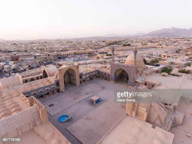 the friday mosque isfahan, iran - david ewing stock pictures, royalty-free photos & images