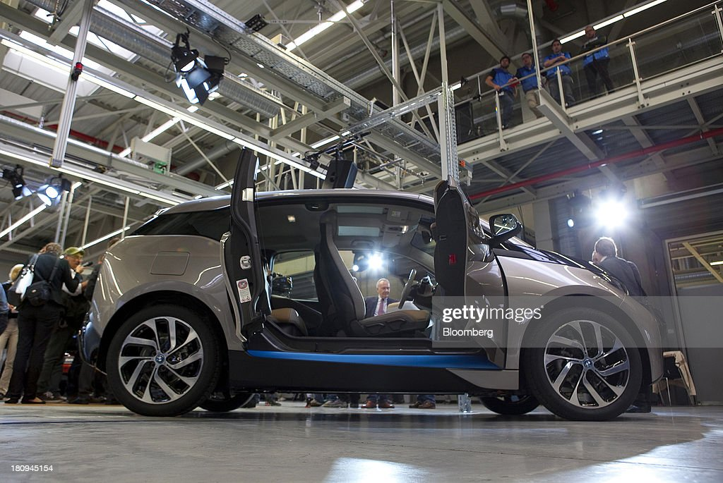 The Front And Rear Passenger Doors Sit Open On A New Bmw I3 News