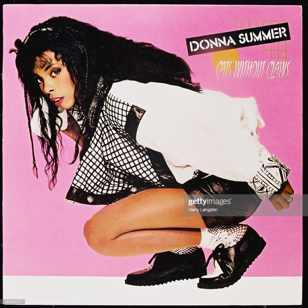 The front cover of the Donna Summer album 'Cats Without Claws' released in 1984.