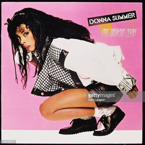The front cover of the Donna Summer album 'Cats Without Claws' released in 1984